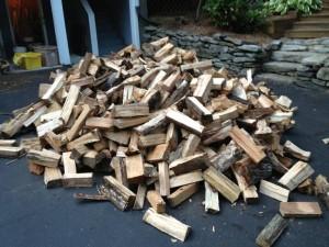 Seasoned Firewood 203-868-8342
